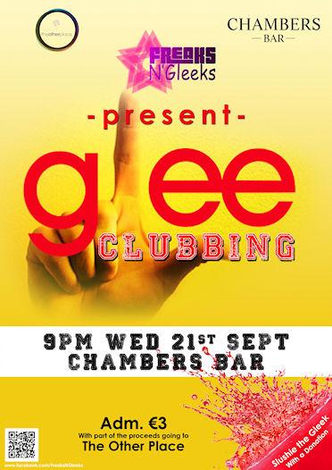 glee clubbing