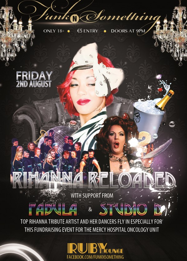 'Funk N Something' Presents 'Rihanna Reloaded' Fundraiser