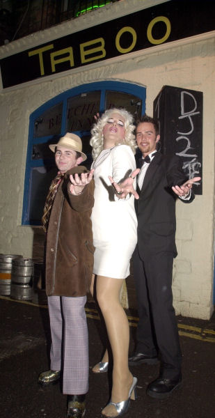Adrian Hurley, (right) Mr Gay Cork 2002