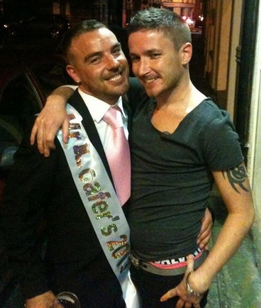 Robert Nagle, Mr Gay Loafers 2012/2013 & Adrian Kiely Mr Gay Loafers 2011/2012