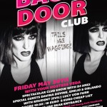 'The Backdoor Club' May 30th at The Savoy